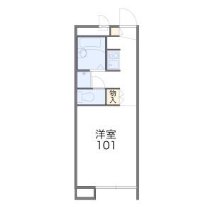 1K Apartment in Kamihoshikawa - Yokohama-shi Hodogaya-ku Floorplan