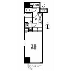台东区台東-1R公寓大厦 楼层布局