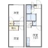 2DK Apartment to Rent in Kumagaya-shi Floorplan