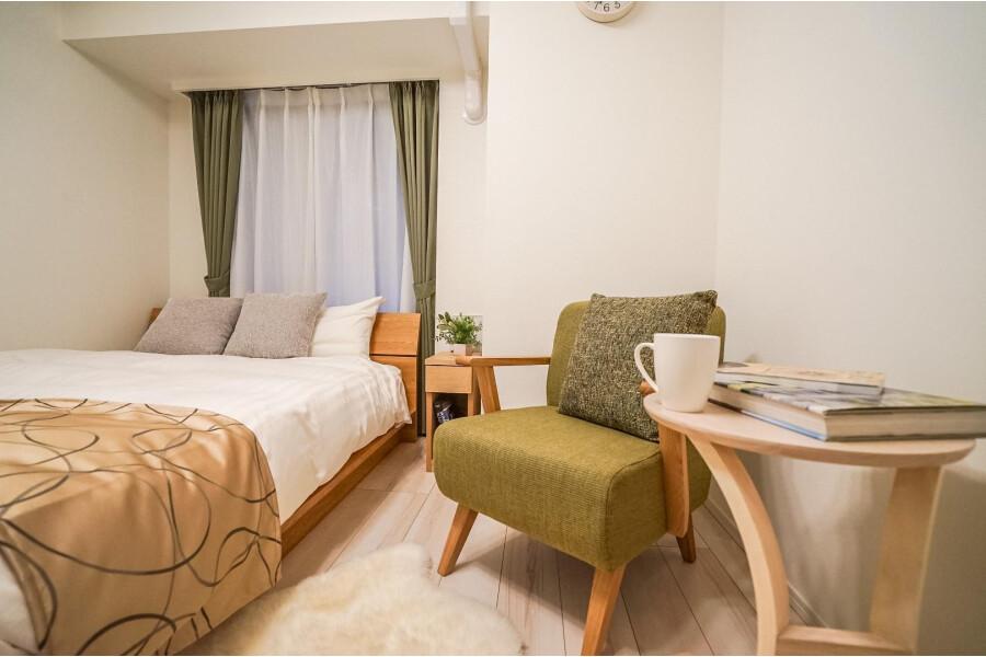 1K アパート 新宿区 ベッドルーム