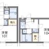 1K Apartment to Rent in Kyoto-shi Kamigyo-ku Floorplan