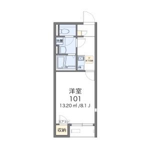 稲澤市正明寺-1K公寓 房間格局
