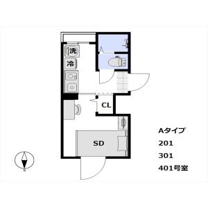 1K Mansion in Iriya - Taito-ku Floorplan