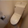 1DK Apartment to Rent in Ota-ku Toilet