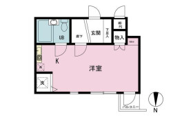 1R {building type} in Takasago - Katsushika-ku