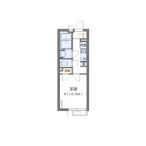 1K Mansion in Kamiishiwara - Chofu-shi Floorplan