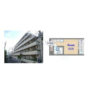 1R {building type} in Shimochiai - Shinjuku-ku Floorplan