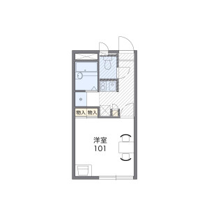 1K Apartment in Arakawa - Arakawa-ku Floorplan