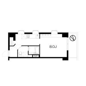 1R Mansion in Mukojima - Sumida-ku Floorplan