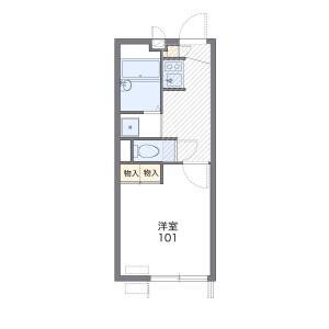 1K Apartment in Senzoku - Meguro-ku Floorplan