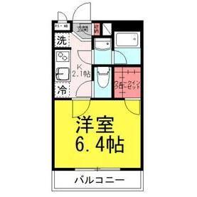 渋谷区 恵比寿南 1K アパート 間取り
