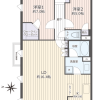 2LDK Apartment to Buy in Yokohama-shi Tsuzuki-ku Floorplan
