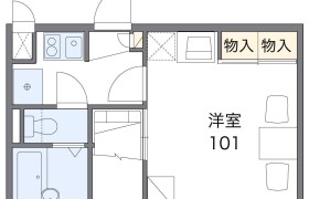 1K Apartment in Hachioji - Saitama-shi Chuo-ku