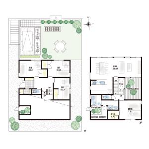 4LDK {building type} in Onoharahigashi - Mino-shi Floorplan