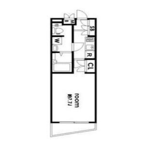 1K Mansion in Kamiuma - Setagaya-ku Floorplan