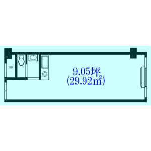 1K {building type} in Hommachibashi - Osaka-shi Chuo-ku Floorplan