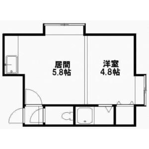 Whole Building {building type} in Sakaedori - Sapporo-shi Shiroishi-ku Floorplan