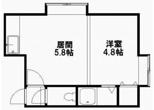 Whole Building Apartment to Buy in Sapporo-shi Shiroishi-ku Floorplan
