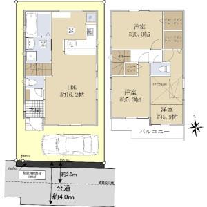 3LDK {building type} in Izumi - Suginami-ku Floorplan