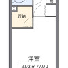 1K Apartment to Rent in Neyagawa-shi Floorplan