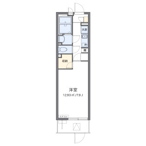 1K Mansion in Hommachi - Neyagawa-shi Floorplan