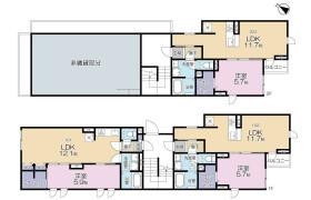1LDK Apartment in Higashigaoka - Meguro-ku