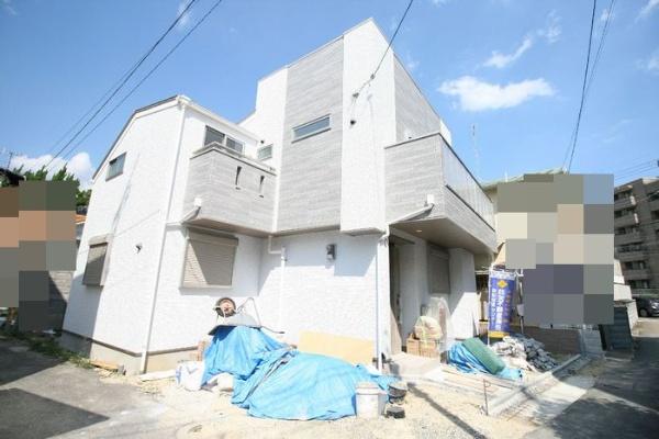 在神戸市東灘区购买4LDK 独栋住宅的 户外