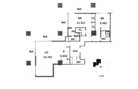 2LDK Apartment in Isobedori - Kobe-shi Chuo-ku