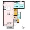 1R Apartment to Rent in Kawagoe-shi Floorplan