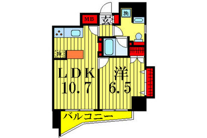 1DK Apartment to Rent in Arakawa-ku Exterior