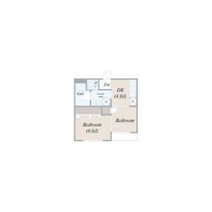 matsuri Monthly takaido32★ - Serviced Apartment, Suginami-ku Floorplan