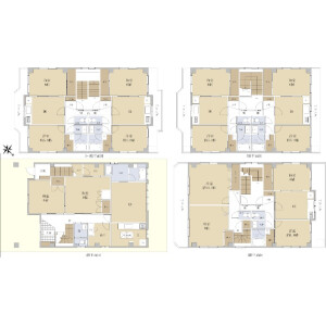 Whole Building {building type} in Ozone - Nagoya-shi Kita-ku Floorplan