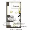 在澀谷區內租賃1R 公寓 的房產 房間格局