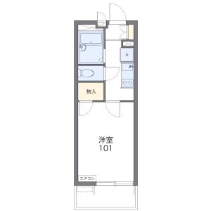 1K Mansion in Takashimadaira - Itabashi-ku Floorplan