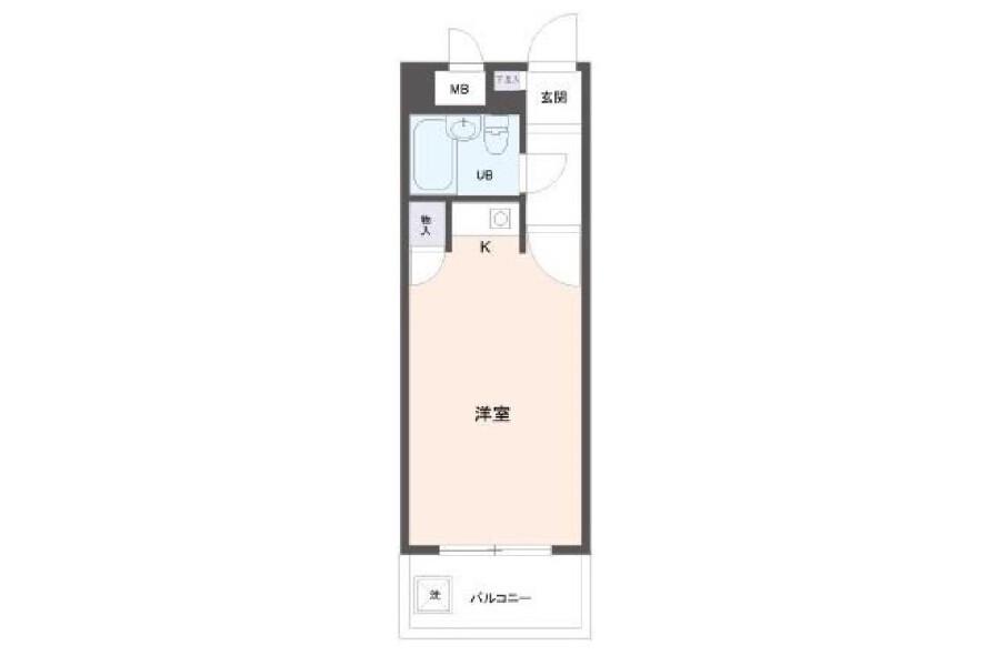 1R Apartment to Buy in Osaka-shi Nishiyodogawa-ku Interior