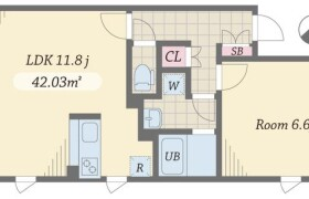 1LDK Mansion in Hakusan(2-5-chome) - Bunkyo-ku