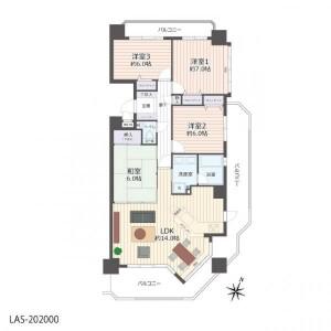 4LDK {building type} in Yamadakitamachi - Nagoya-shi Kita-ku Floorplan