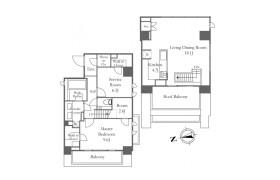 港区西麻布-1SLDK公寓