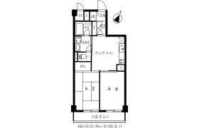 2DK {building type} in Shirokanedai - Minato-ku