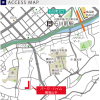 2LDK Apartment to Buy in Yokohama-shi Naka-ku Access Map