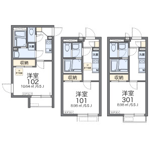 1K Mansion in Nishishinagawa - Shinagawa-ku Floorplan