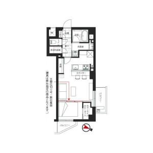 1LDK {building type} in Hatagaya - Shibuya-ku Floorplan