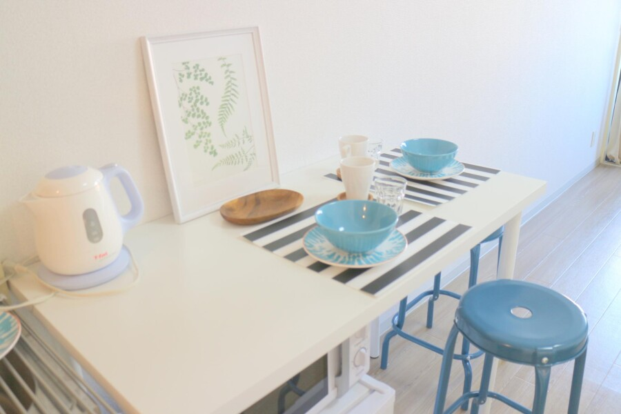 1R Apartment to Rent in Meguro-ku Kitchen