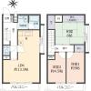3LDK Apartment to Buy in Otsu-shi Floorplan