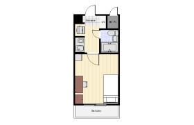 大田區西蒲田-1R公寓大廈