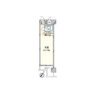 1R {building type} in Yamashitacho - Yokohama-shi Naka-ku Floorplan