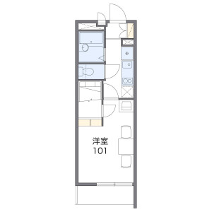 1K Mansion in Showacho - Osaka-shi Abeno-ku Floorplan