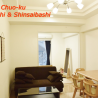 1LDK Apartment to Rent in Osaka-shi Chuo-ku Living Room
