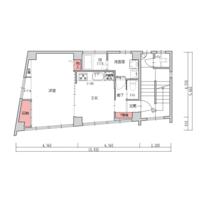 1DK Mansion in Sakuragicho - Saitama-shi Omiya-ku Floorplan