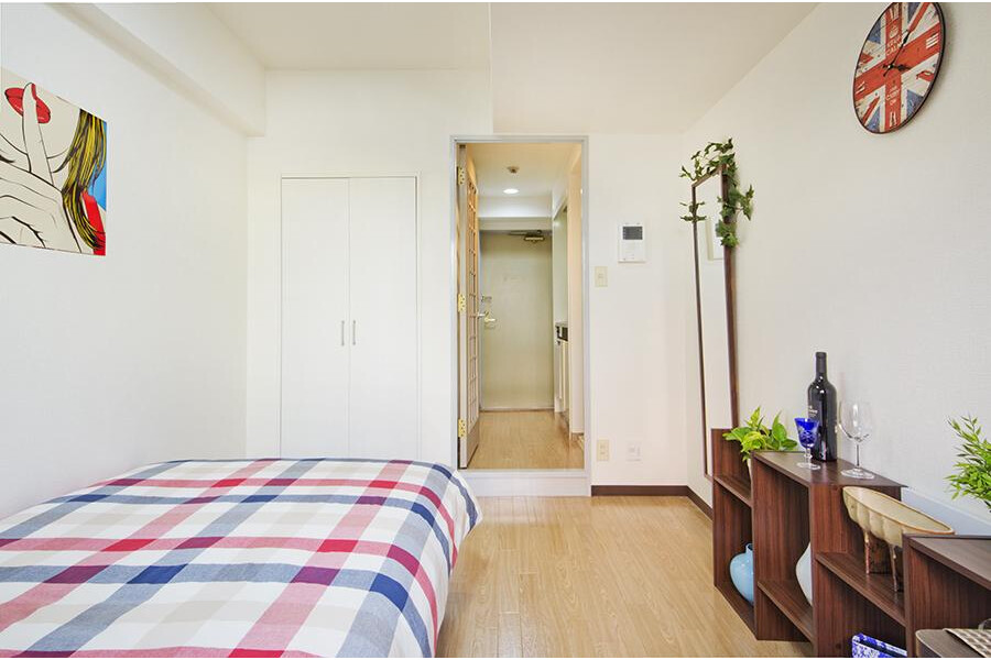 1R Apartment to Rent in Sumida-ku Living Room